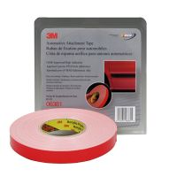 3M Automotive 45 mil White Attachment Tape (7/8 in. X 20 yd.)