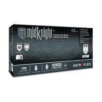 Midknight Disposable Nitrile Exam Gloves - Medium (100/Box)