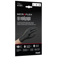 Midknight Disposable Nitrile Exam Gloves - Large (10/Pack)