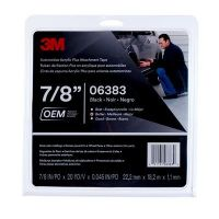 3M Automotive Acrylic Plus Attachment Tape Black 45 mil (7/8 in x 20 yd)