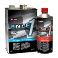 Ultimate Overall Clearcoat Gallon Kit w/ Finish 1 Medium Hardener