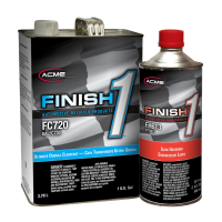 Ultimate Overall Clearcoat Gallon Kit w/ Finish 1 Slow Hardener