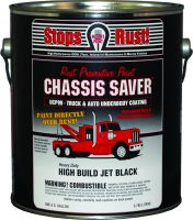 Magnet Paint Chassis Saver Gloss Black 1 Gallon Can Rust Prevention UCP99-01