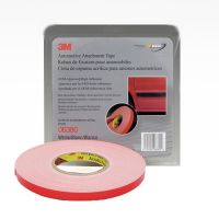 3M Automotive 45 mil White Attachment Tape (1/2 in. X 20 yd.)
