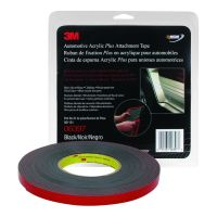 Automotive Acrylic Plus 60 mil Black Attachment Tape (1/2 in. X 10 yd.)
