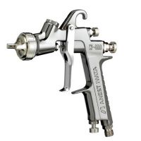 IWATA W400-LV Classic Plus Series Compliant Gravity Feed Spray Gun 1.3 mm