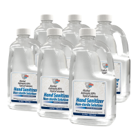 POR-15 80% Alcohol Antiseptic Hand Sanitizer Refill 53.5 fl. oz. (6 Pack)