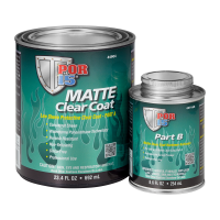 POR-15 Matte Clear Coat (Quart)