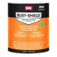 RustShield 2.8 Flat Black (Gallon)