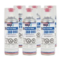 SprayMax 3680065 2K Matte Clear Coat 400 ml (6 Pack)