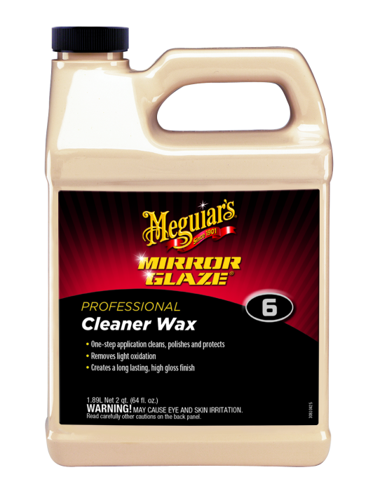 Meguiar's Mirror Glaze Cleaner Wax for sale online